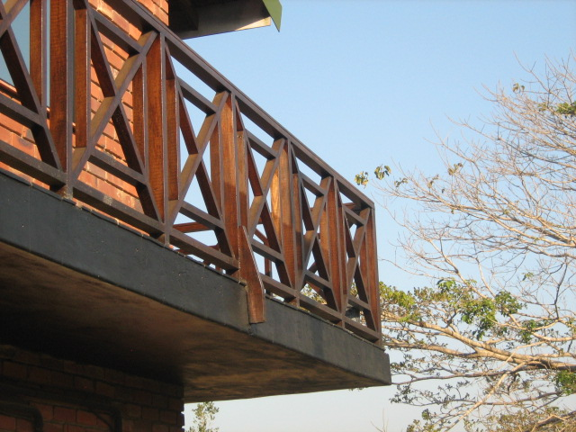 Timber or wooden balustrades the wood joint