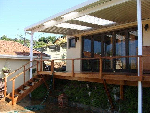 Sundeck installed in durban bluff the wood joint for Sundeck flooring