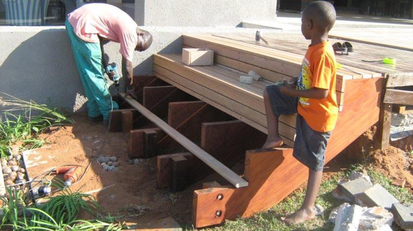 Timber stairs Durban