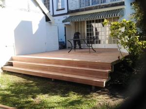 Timber deck builder Durban