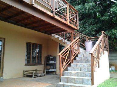 Wooden stairs Durban