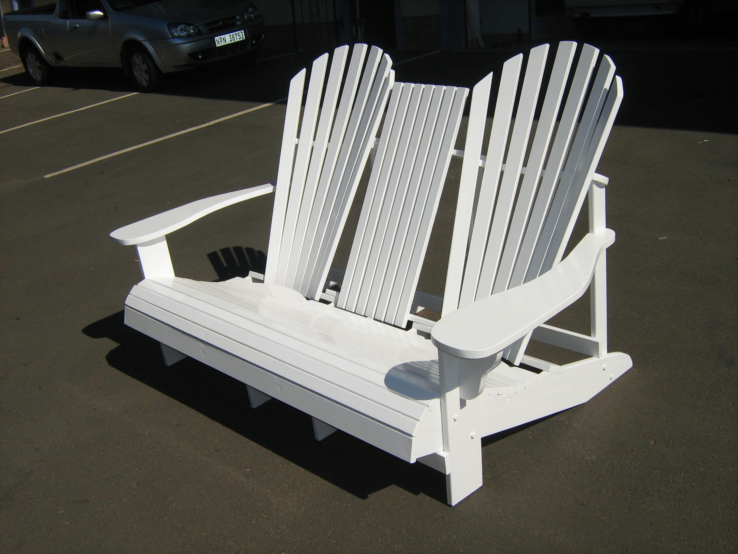 Outdoor Garden Patio Furniture – Adirondack Chairs – The Wood Joint
