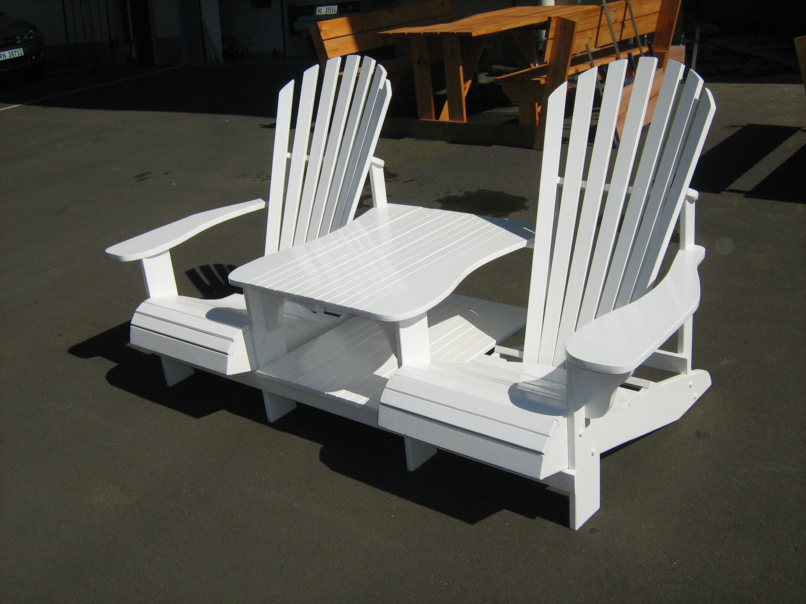 adirondack chair plans composite