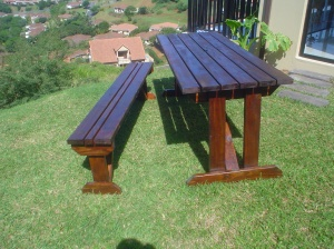 Outdoor furniture - picnic tables
