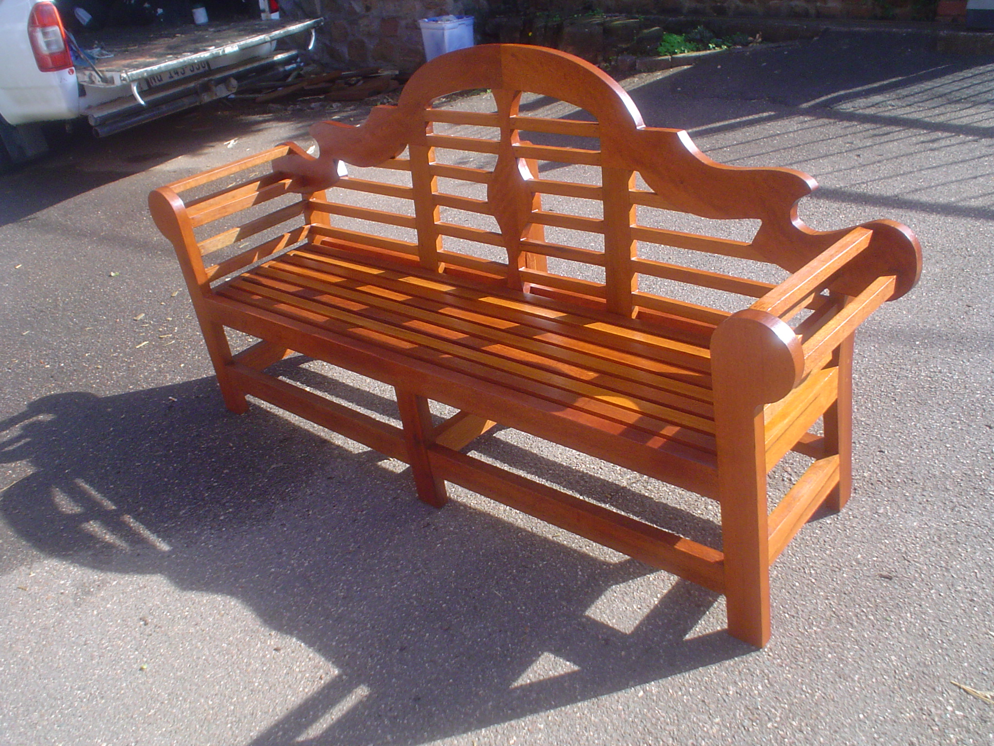 Pictures Of Sundecks Stairs And Benches: Lutyens Bench – Outdoor Garden Furniture