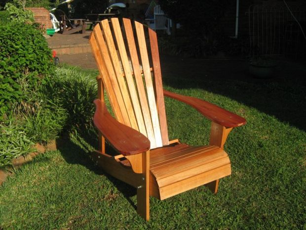 adirondack lawn chair plan