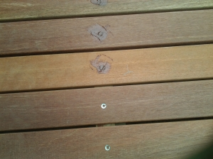 preventing rot in wooden decks