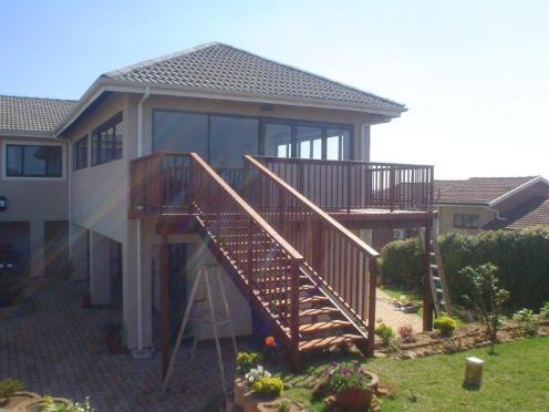Wooden deck builder Durban