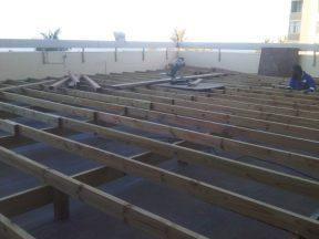 Wooden decking Durban