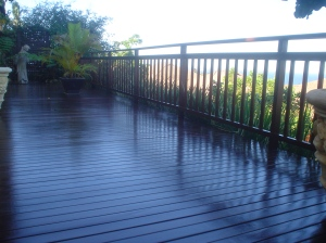 Deck refurbishment