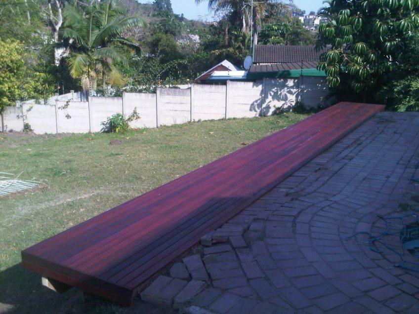 Wooden deck builder Durban