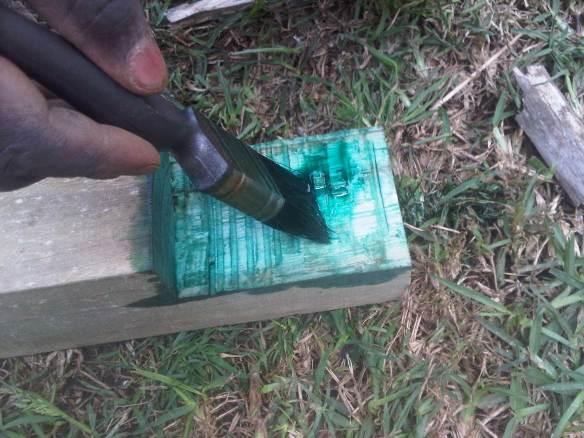 Wooden deck guarantee