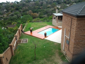 Wooden pool deck builder Durban