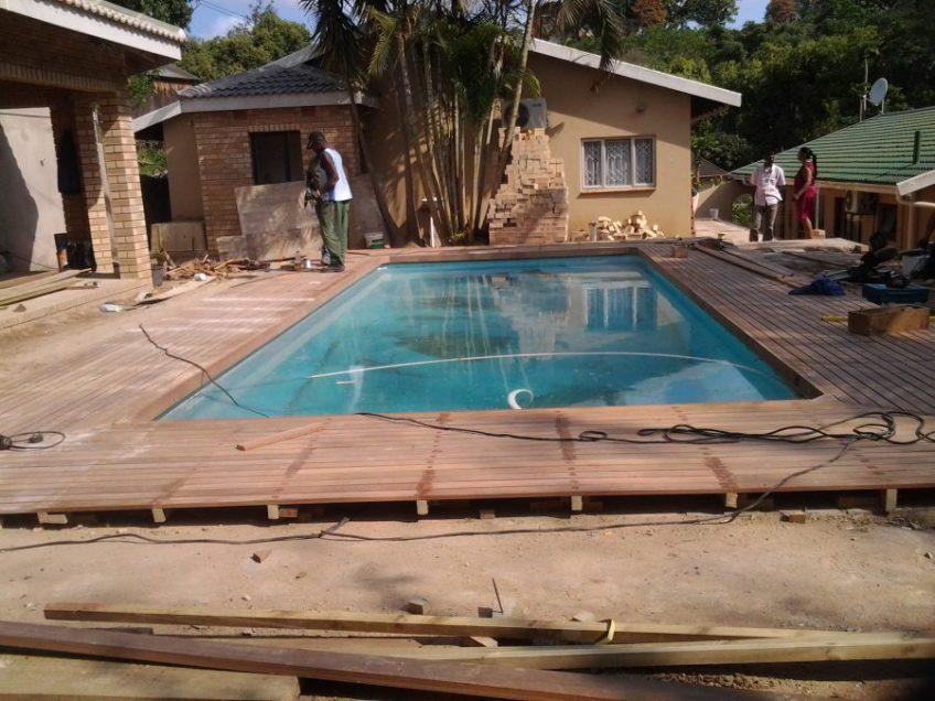 Wooden deck installer Durban
