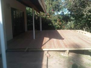Wooden decks in Durban