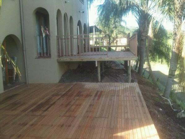 Wooden Deck Verulam