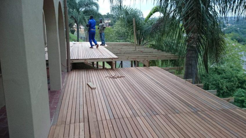 Wooden decks Durban