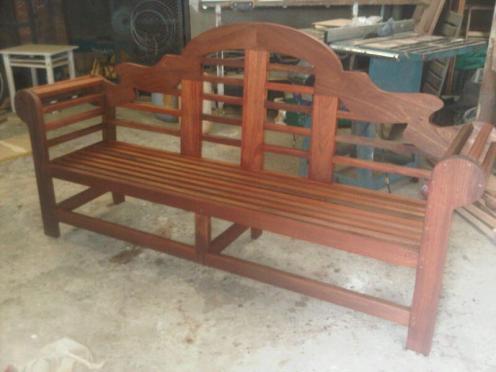 Outdoor garden furniture, Lutyens Bench
