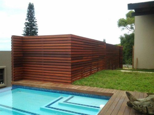 Wooden screens Durban and Cape Town