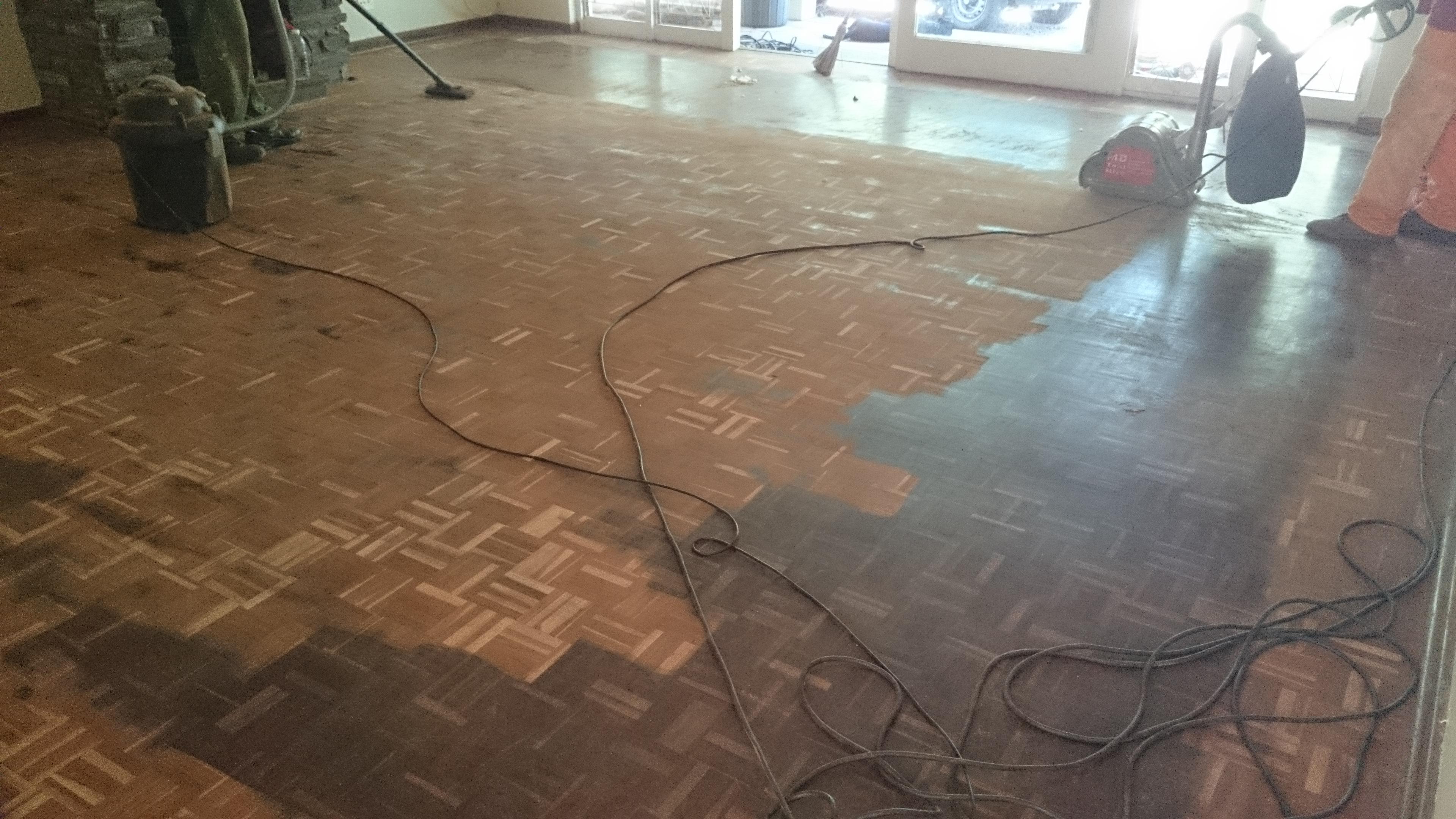 Swiss parquet floor sanding Durban
