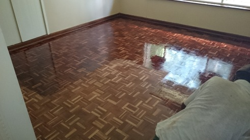 Swiss parquet floor sealing Durban