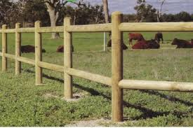 Post and Rail Fencing Durban