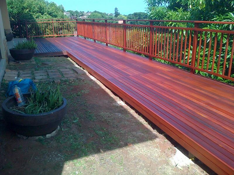 Timber decks Durban