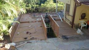 Balau Timber Pool Deck Durban, Westville April 6