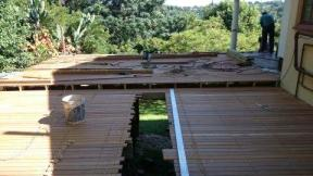 Balau Timber Pool Deck Durban, Westville April 5