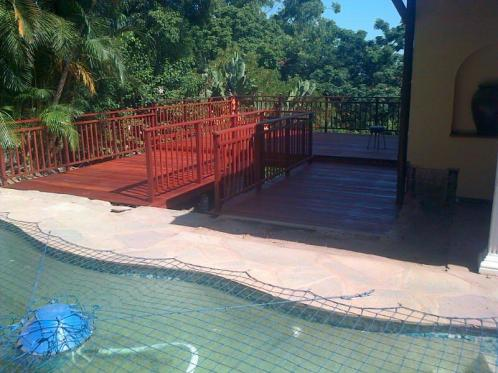 Balau Timber Pool Deck Durban, Westville April 1