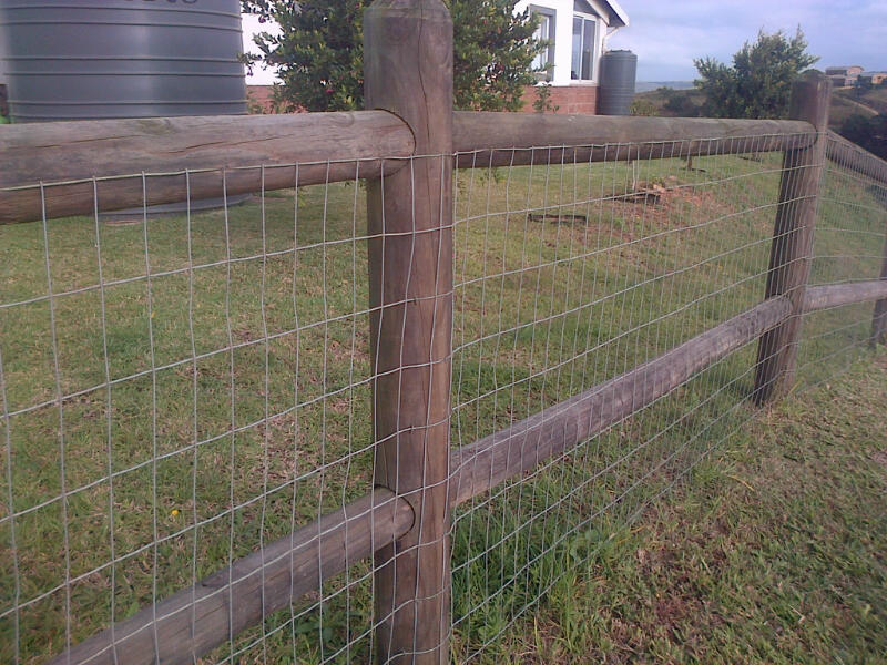 Wooden Post and Rail Fencing Durban (5/6)
