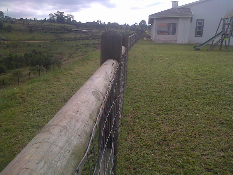 Wooden Post and Rail Fencing Durban (3/6)