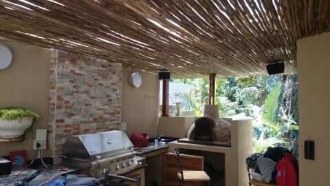 Wooden Pergola built in La Lucia, Durban (2/2)