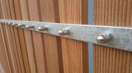 Steel Driveway Gate Cladding, Umdloti May 2014 2