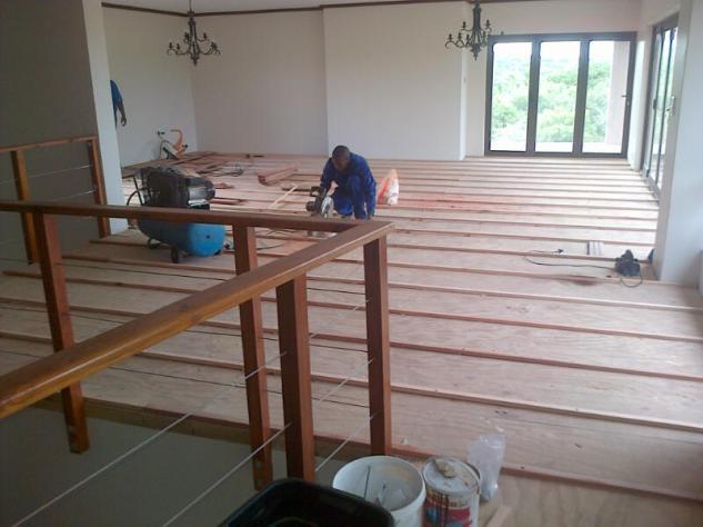 Teak Hardwood Floors Hluhluwe May 2014 5