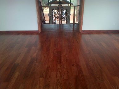 Teak Hardwood Floors Hluhluwe May 2014 3