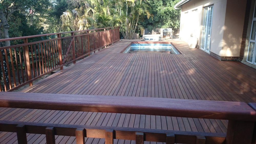 Pool deck built Westville Durban