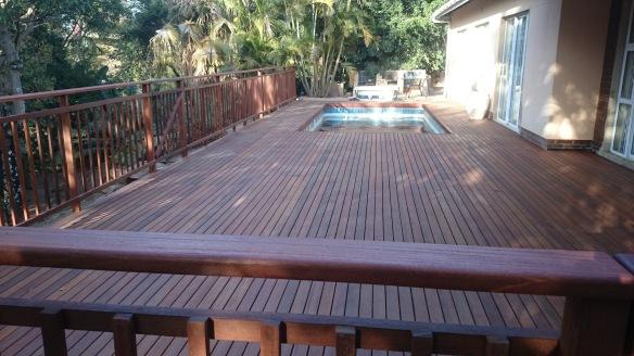 Pool deck built Westville Durban