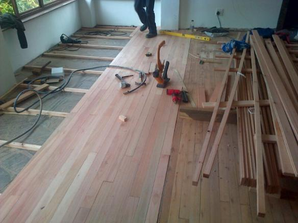 Solid wood flooring Durban