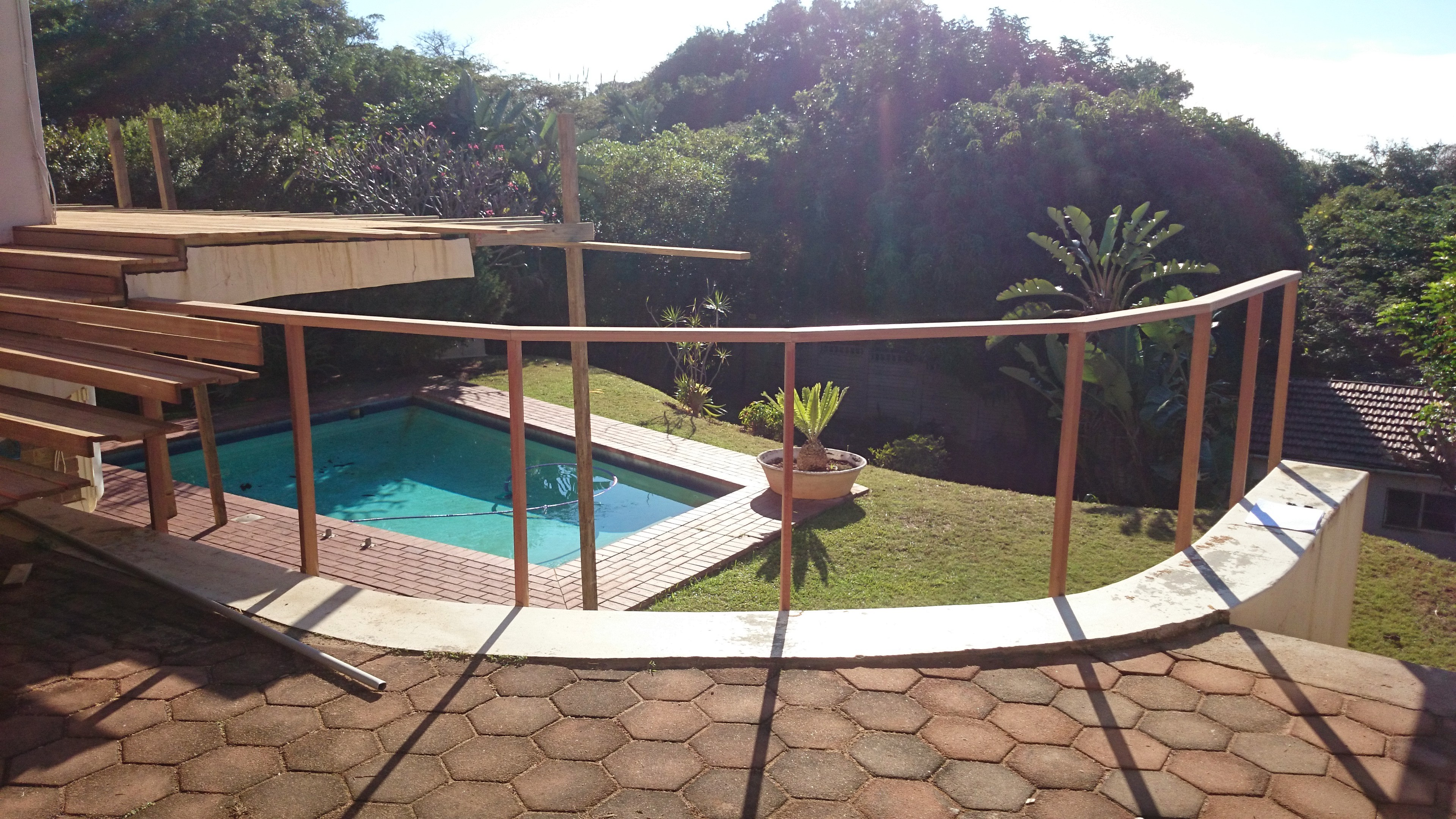 Pictures Of Sundecks Stairs And Benches: Wooden Balau Sun Decks And Wire Rope Balustrades, Durban