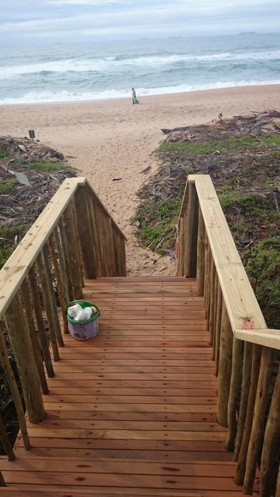Wooden Balau Walkway
