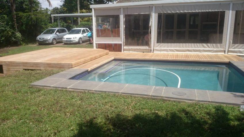 Wooden Pool Deck Pinetown December 2014 4