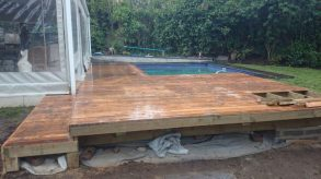 Wooden Pool Deck Pinetown December 2014 2