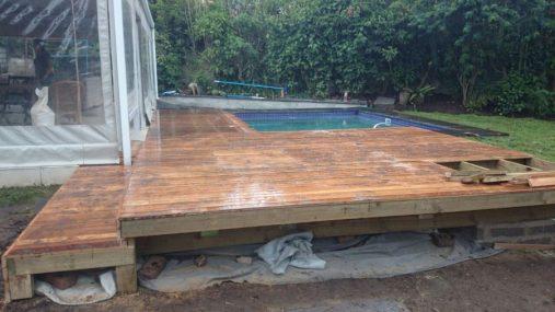 Wooden Pool Deck Pinetown December 2014 2
