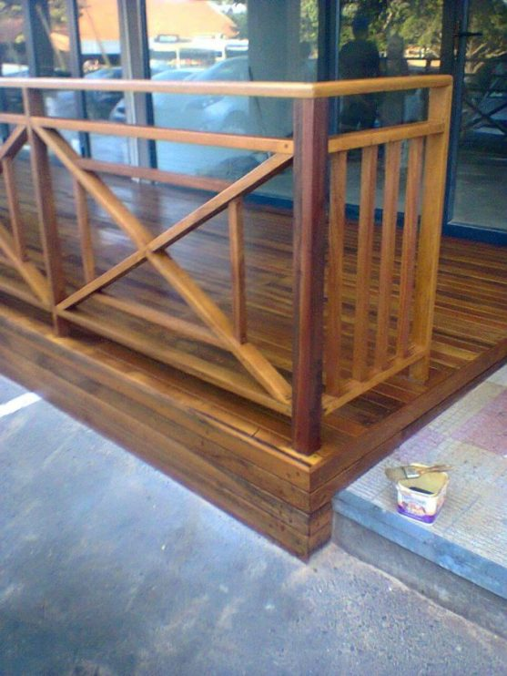 Wooden Balustrade Wooden Deck Wooden Stairs 3