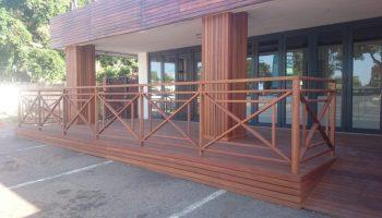 Wooden Balustrade Wooden Deck Wooden Stairs 2