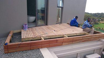 Wooden Decks Umhlanga, Durban June 2015 4
