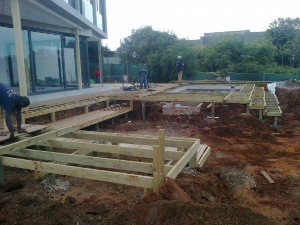 Wooden Decks Umhlanga, Durban June 2015 3