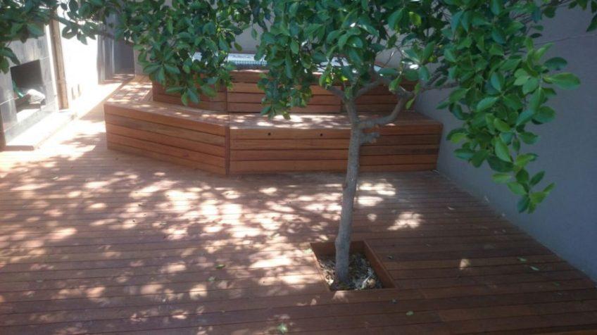 Timber Pool Deck New Durban September 2015 4