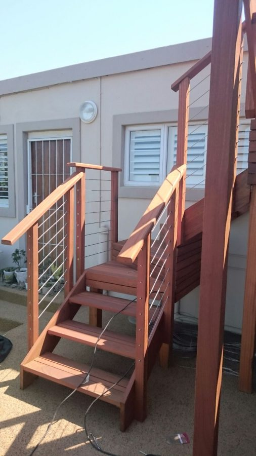 Deck and Stairs Umhlanga March 2016 2